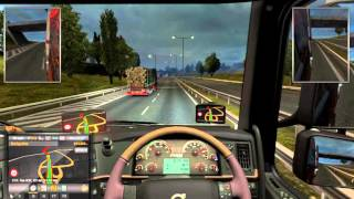 Cambridge To Manchester United Kingdom [ Euro Truck Simulator 2]