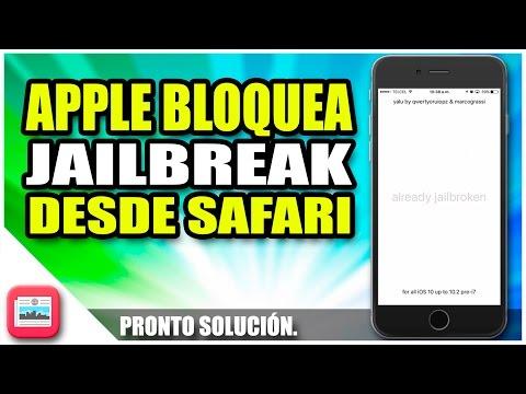 Apple bloquea el jailbreak desde Safari | Apple bloquea perfiles de terceros