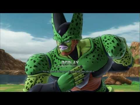 Dragon Ball Z: Ultimate Tenkaichi (PS3) - Super Saiyan Future Trunks vs. Semi-Perfect Cell