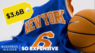 Why The New York Knicks Are So Expensive | So Expensive