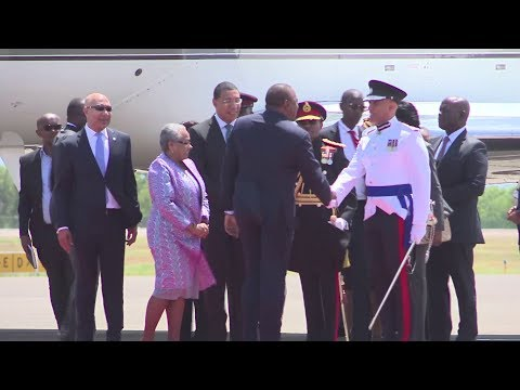 FIRST LADY MARGARET KENYATTA ACCOMPANY UHURU TO JAMAICA BUT HER BUSINESS WAS TOTALLY DIFFERENT,
