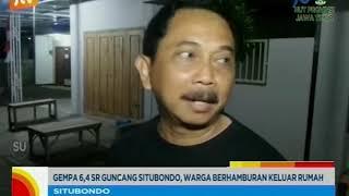 www.pojokpitu.com : Gempa 6,4 SR Guncang Situbondo, Warga Berhamburan Keluar Rumah