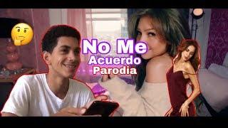 Thalía Natti Natasha No Me Acuerdo Official Audio Parodia