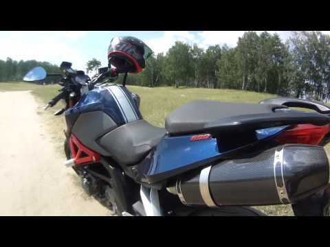 Benelli 600 with Acrapovic