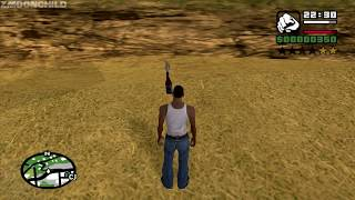 How to get all of the Molotovs at very beginning of the game - GTA San Andreas