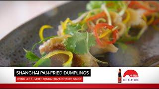 Shanghai Pan Fried Dumplings by Chef Leslie Chan and Michael Weldon