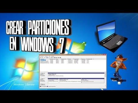 Como Crear Particiones En Windows 7 Facilmente Sin Programas