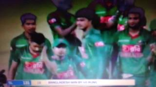 Win moment bangladesh the boss last match