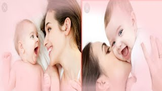 Cute Baby & Mom adorable pic for pregnant women for Their future baby dream || baby & mom cute pic