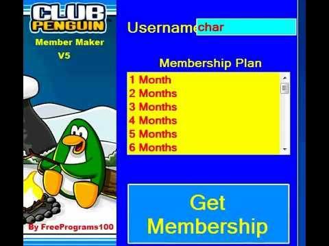 club penguin membership generator 2012 it works