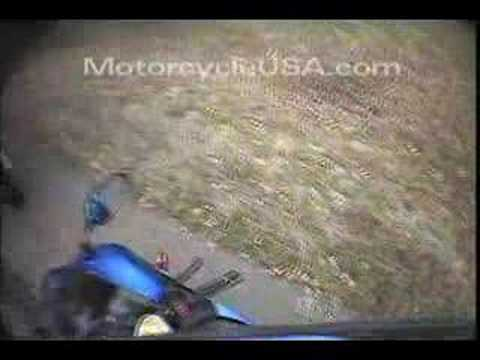 2006 Kawasaki Ninja ZX-6R Street Bike Review Video