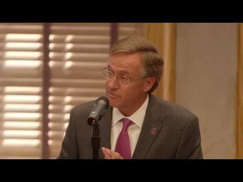 Gov. Bill Haslam: End of Session Press Conference