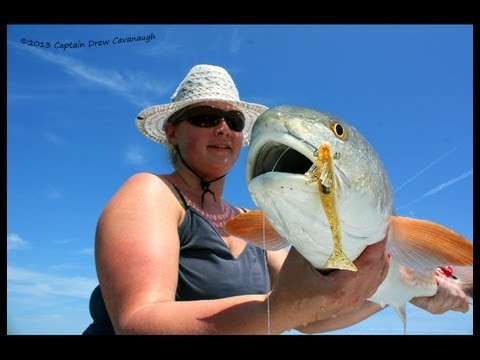 Saltwater Fishing Orlando Florida Tailing Redfish