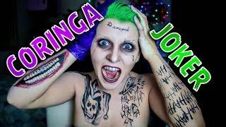 JOKER / CORINGA - Jared Leto Makeup - Suicide Squad / Esquadrão Suicida