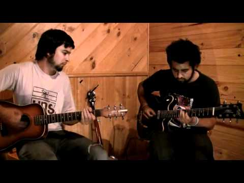 Dan & Kyle of 'Halfway to Forth' jam with Give Me Drums Train Groove MP3 drum backing