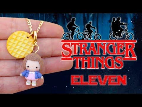DIY STRANGER THINGS ELEVEN CHIBI - POLYMER CLAY TUTORIAL