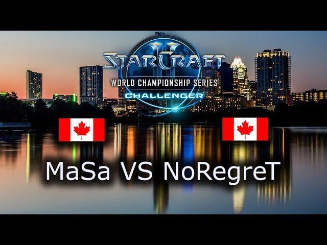 MaSa VS NoRegreT - Ro8 - TvZ - NA Qualifiers WCS Austin 2018 - polski komentarz