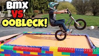 BMX vs OOBLECK Challenge! **We Sink!!**