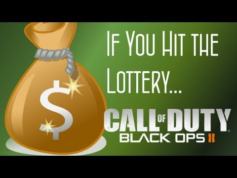 CoD Black Ops 2 Wii U - Hitting The Lottery!