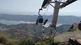 Rope Way at Sri Mata Naina Devi Ji Himachal Pradesh India - Live Visit Video