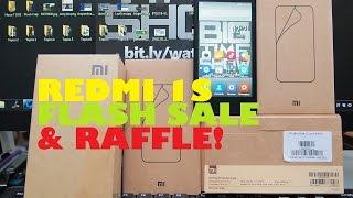 Rafid Fire News: Xiaomi Redmi 1S Flash Sale (Sept 12) & We?re Raffling Off A Redmi 1S Too!