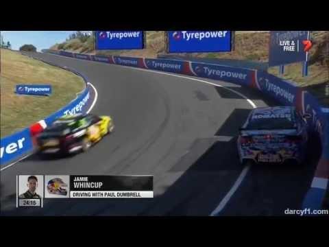 Whincup Crash @ 2014 V8 Supercars Bathurst Qualifying