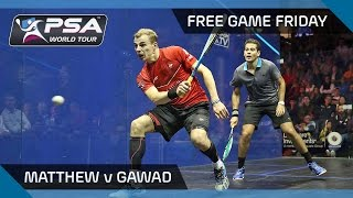 Squash: David v El Tayeb - Wadi Delga Open 2016 QF Highlights