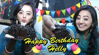 Helly Shah aka Swara's Birthday Celebration With Telly Masala | Swaragini
