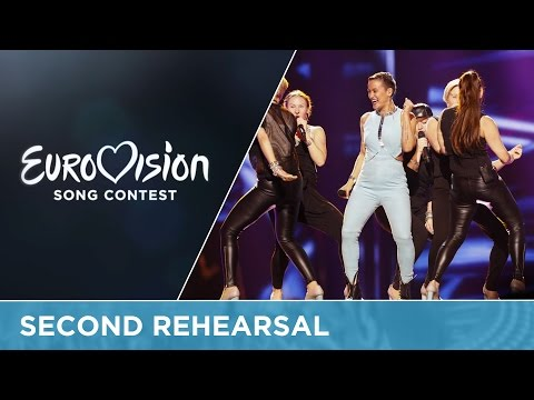 Sandhja - Sing It Away (Finland) Second Rehearsal