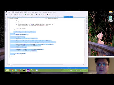 Advance Malware Reverse Engineering - Creating a tool to identify malicious files in C#