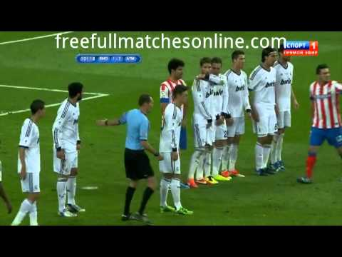 Real Madrid Vs Atletico Madrid Full Match EXTRA TIME  final Copa del Rey 17/05/2013 HD