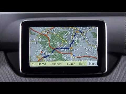 Mercedes-Benz COMAND Integration with Google Maps