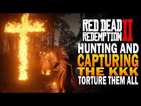 Hunting Down & Capturing The KKK! Easy Honor! Red Dead Redemption 2 Secrets [RDR2]