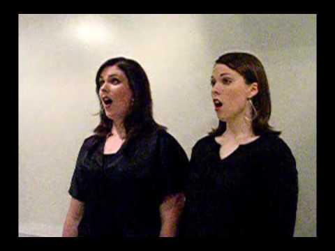 Sister Duo Sings Pie Jesu Acappella