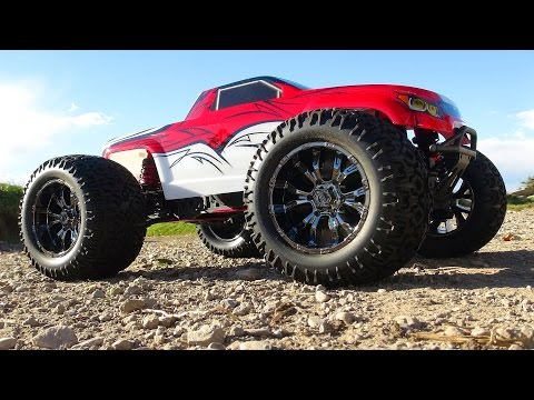 RC ADVENTURES: Unboxing the Losi LST XXL2 1/8th Scale Gas Powered Monster Truck