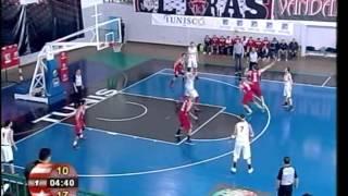 Resumé CA-ESS 1\8 coupe de Tunisie 2015 de basket-ball par rabii bhouri ربيع البحوري