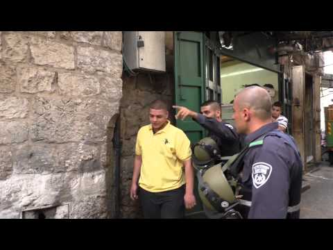 Daily terror in the old city of Jerusalem
