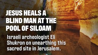 Eli Shukron on Pool of Siloam Discovery From Original Site in Jerusalem
