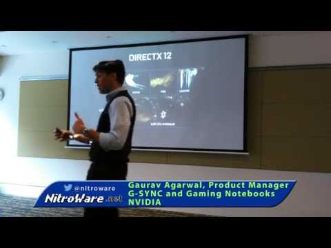 DirectX 12 Explained - NVIDIA Mobile G-SYNC & Gameworks VR Launch
