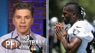 Antonio Brown returning to Oakland Raiders' facility | Pro Football Talk | NBC Sports