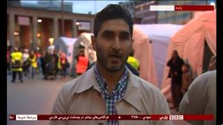 Refugees in Munich - BBC Persian Live Talk Bamdad Esmaili