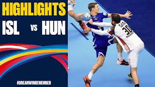 Iceland vs. Hungary Highlights | Day 7 | Men's EHF EURO 2020