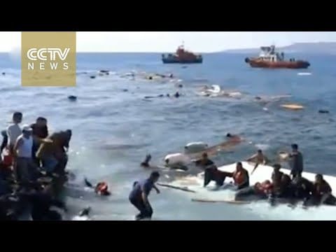 Migrant boat sinks off Rhodes