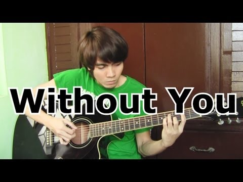 Without You - David Guetta ft. Usher (fingerstyle guitar cover...
