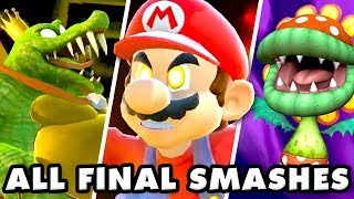 Super Smash Brothers Ultimate - All Final Smashes!