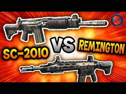 SC-2010 vs REMINGTON R5! - Call of Duty: Ghost - COMPARING STATS! (COD Ghosts)