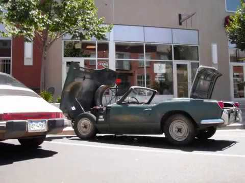 1967 Triumph Spitfire EV Conversion - Student Project Video