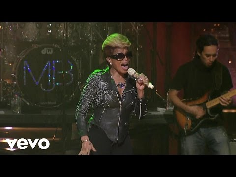 Mary J. Blige - I'm The Only Woman (Live on Letterman)