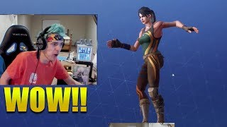 NINJA REACTS *NEW* POP LOCK DANCE/EMOTE ! Fortnite Battle Royale