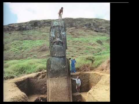 Есть ли у голов на острове Пасхи ноги ?